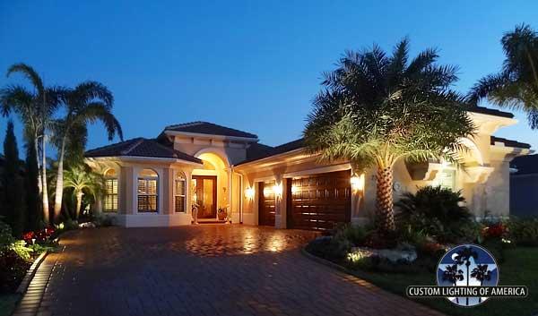 jupiter florida residence led lighting