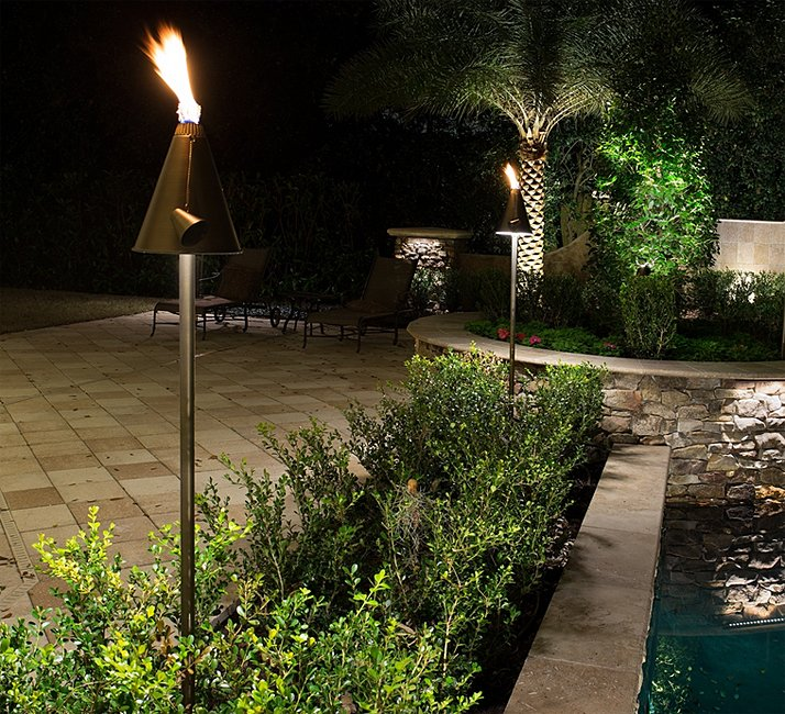 led landscape lighting palm beach fl