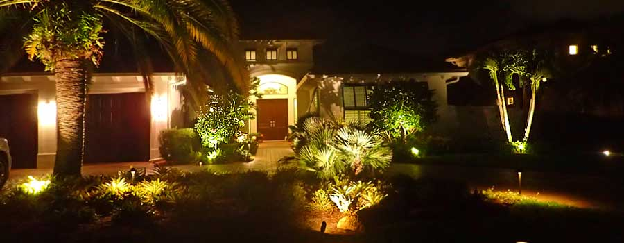 led landscape lighting, palm beach