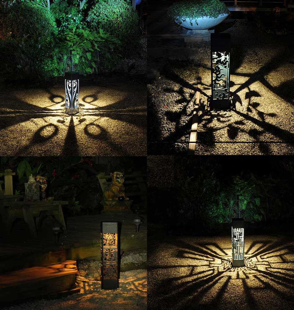 led bollard lights landscape lighting palm beach