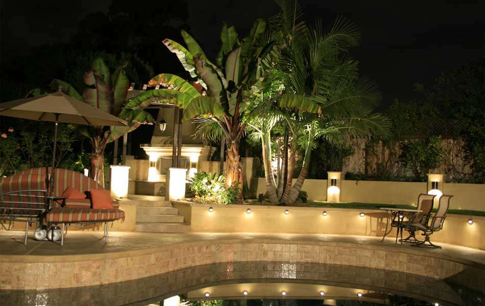 Swimming pool lighting tips landscape lighting for pools aloadofball Choice Image